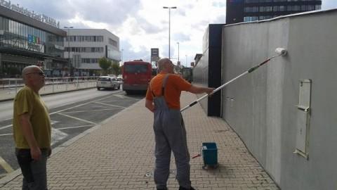 100 % Schutz vor Graffitis München