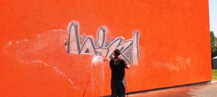 Graffiti-Entfernung Wien
