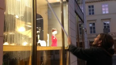 Das Putzen in Höhen – Fenster, Schaufenster München